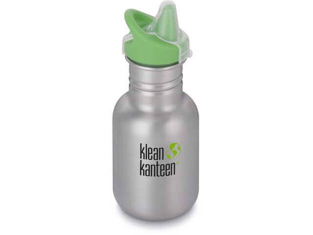 Klean Kanteen Kid Classic Bottle Sippy Cap 355ml brushed stainless